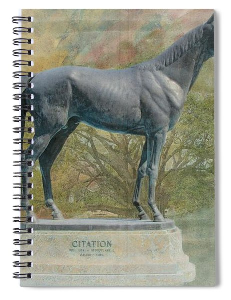 Citation Thoroughbred Spiral Notebook