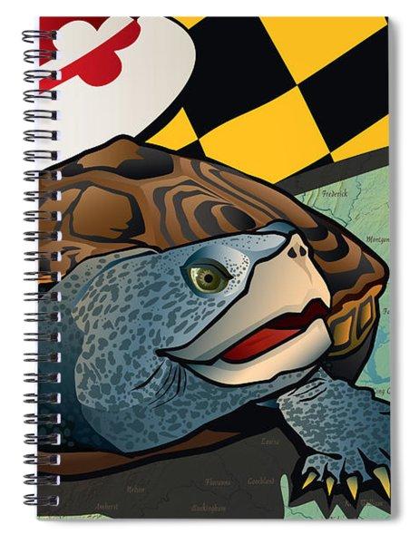Citizen Terrapin Maryland's Turtle Spiral Notebook