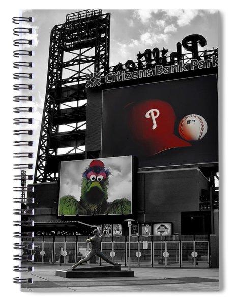 Citizens Bank Park Philadelphia Spiral Notebook