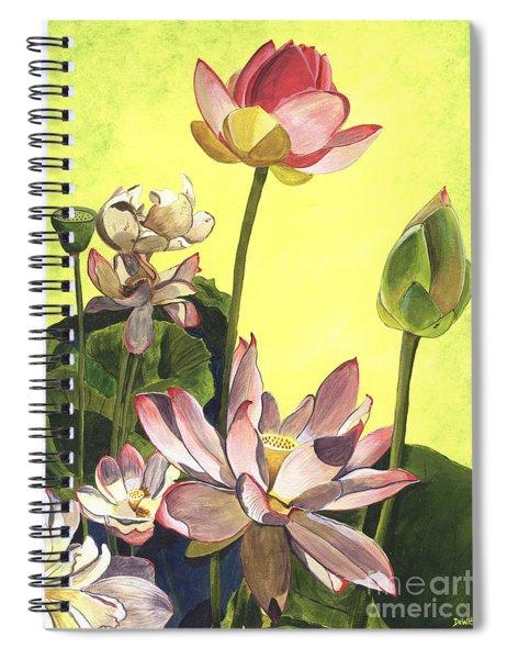 Citron Lotus 1 Spiral Notebook