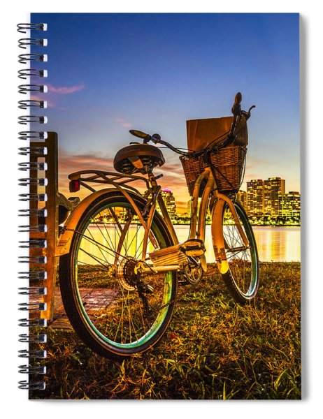 City Bike Spiral Notebook