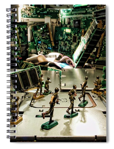 City Cyber Attack  Spiral Notebook