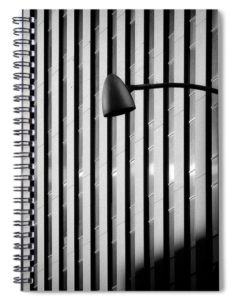 City Lamp Spiral Notebook