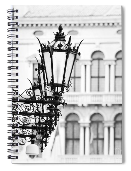 City Lights In Venice Spiral Notebook