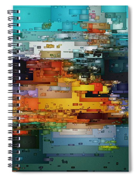City Of Color 1 Spiral Notebook
