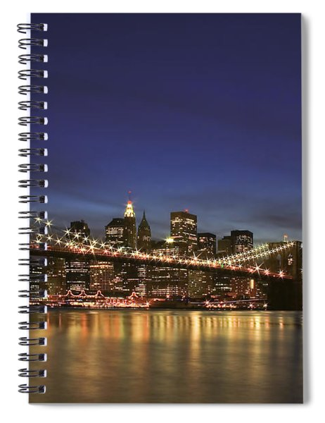 City Of Lights Spiral Notebook