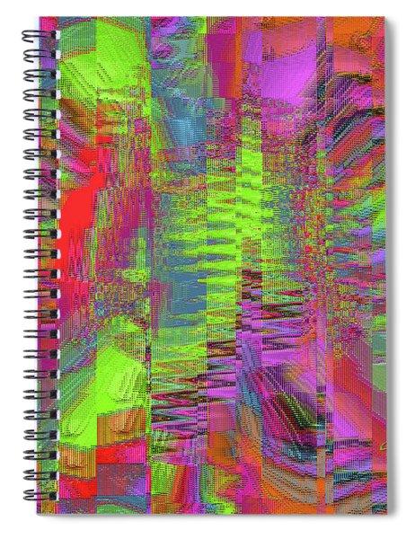 City Of Stairways Spiral Notebook
