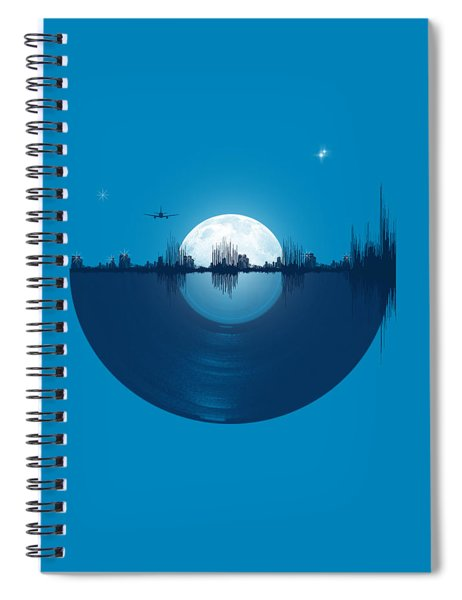 City Tunes Spiral Notebook