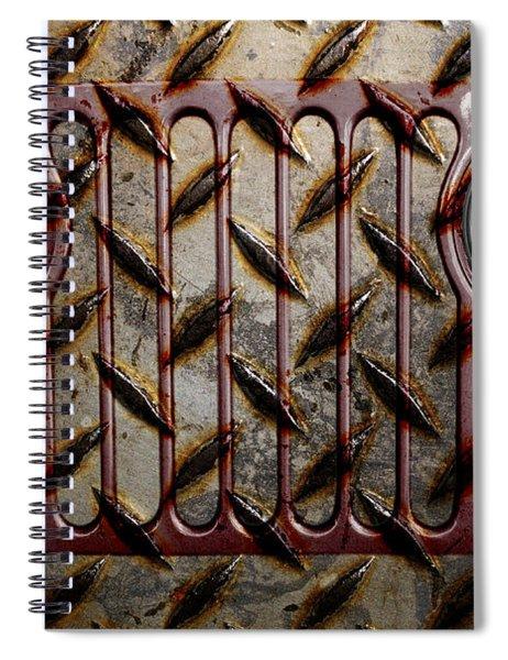 Civilian Jeep- Maroon Spiral Notebook
