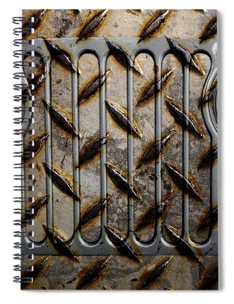 Civilian Jeep- Steel Gray Spiral Notebook