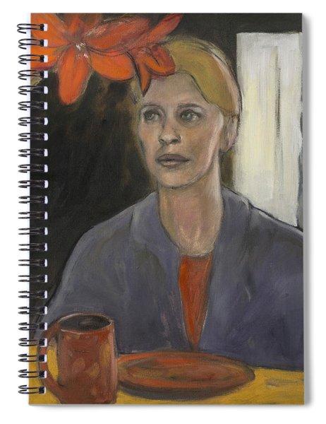 Claire's Amaryllis Spiral Notebook