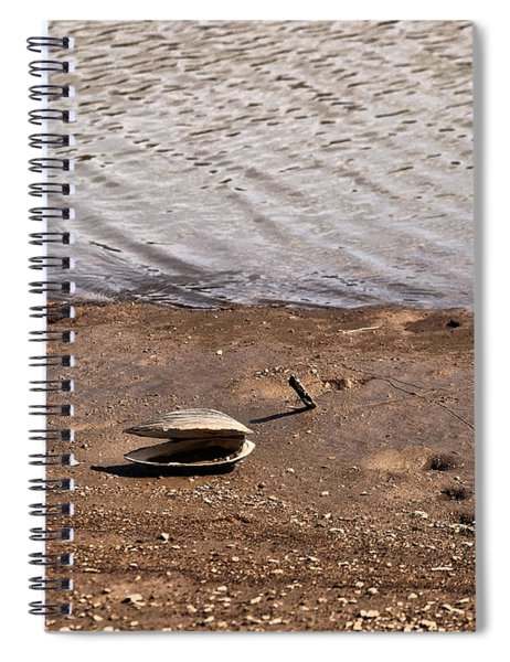 Clam On The Beech Spiral Notebook