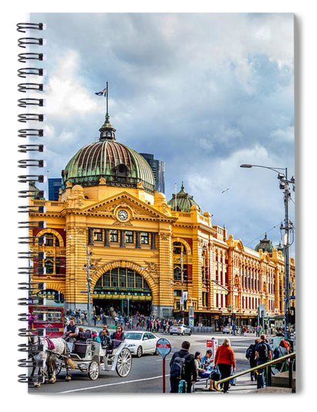 Classic Melbourne Spiral Notebook