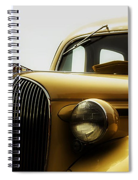 Classic Plymouth Spiral Notebook