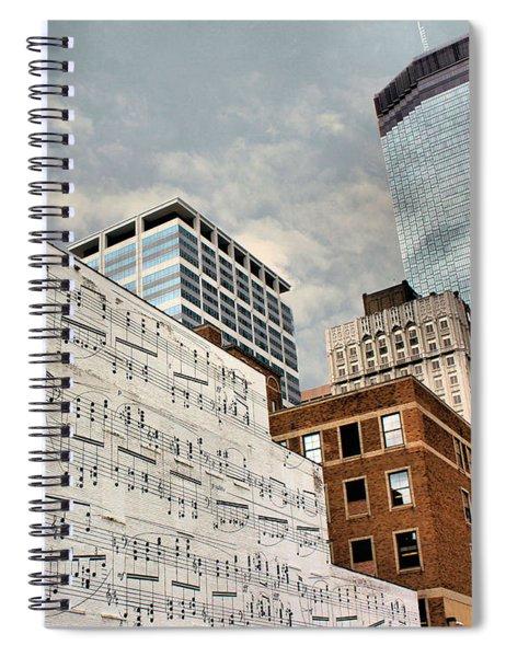 Classical Graffiti Spiral Notebook