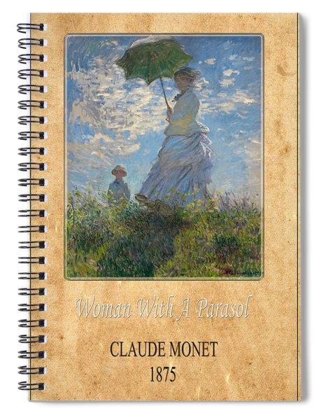 Claude Monet 1 Spiral Notebook