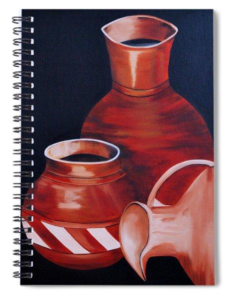 Clay Pots Spiral Notebook