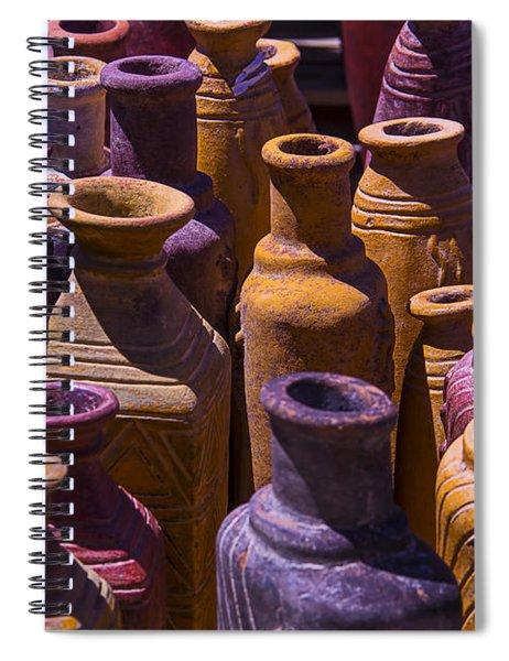 Clay Vases Spiral Notebook