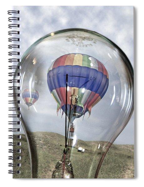 Clear Idea Spiral Notebook