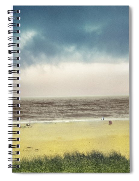 Clearing Storm Montauk  Spiral Notebook