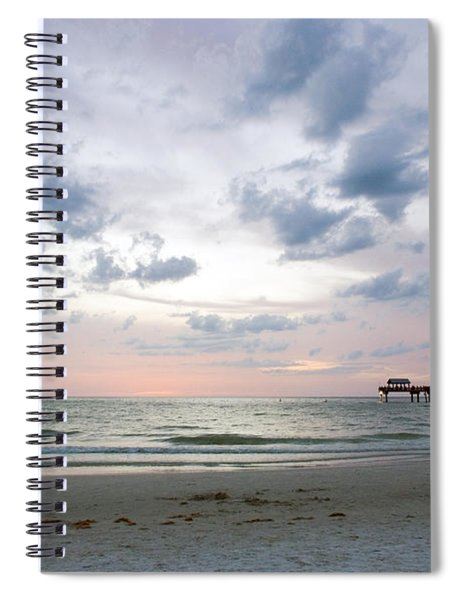Clearwater Fishing Pier Spiral Notebook