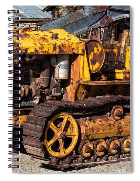 Cletrac 20k Spiral Notebook