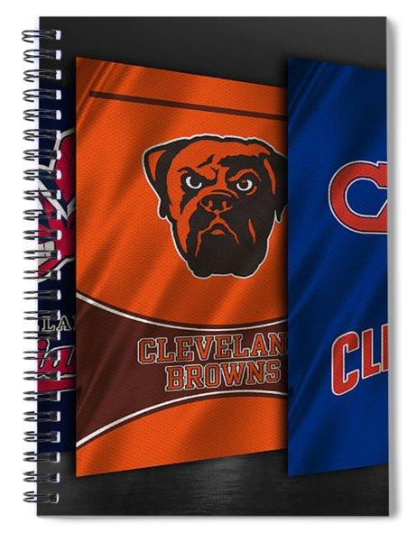 Cleveland Sports Teams Spiral Notebook
