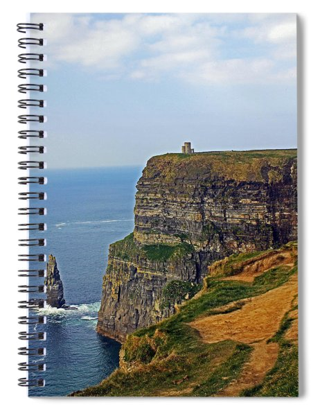 Cliffside Steeple Spiral Notebook