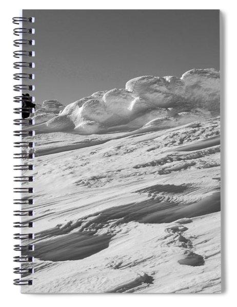 Climbing Mount Pierce Spiral Notebook