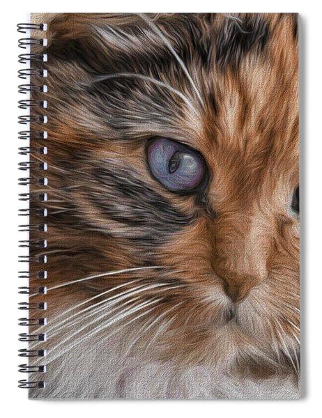 Cloe Kitty Spiral Notebook