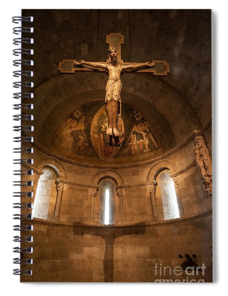 Cloisters Crucifixion Spiral Notebook