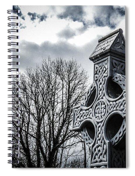 Clondegad Celtic Cross Spiral Notebook