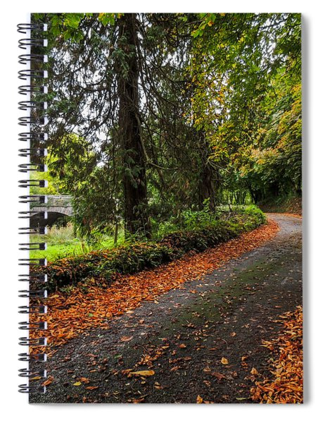 Clondegad Country Road Spiral Notebook