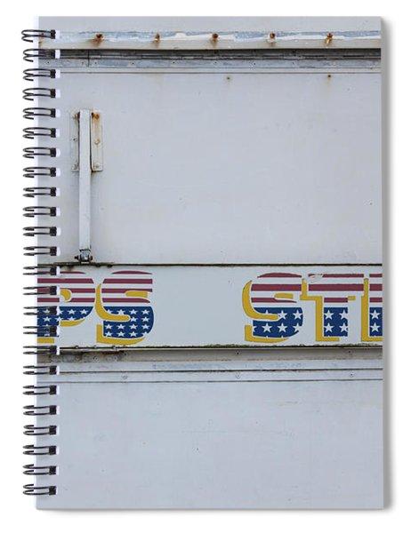 Close-up Of Chip Van Food Truck Spiral Notebook