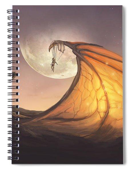 Cloud Dragon Spiral Notebook
