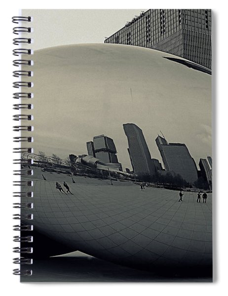 Cloud Gate Spiral Notebook
