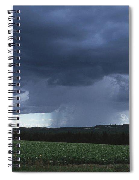 Cloudburst Spiral Notebook