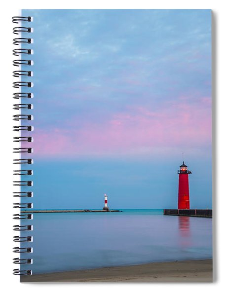 Clouds Of Cotton Candy Spiral Notebook