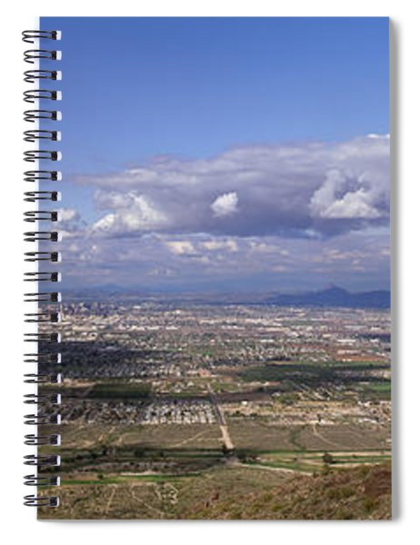 Clouds Over A Landscape, South Mountain Spiral Notebook
