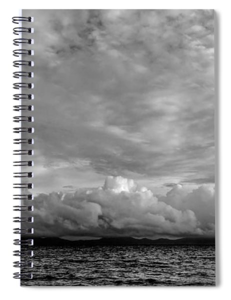 Clouds Over Alabat Island Spiral Notebook