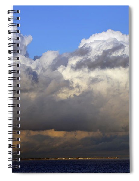 Clouds Over Portsmouth Spiral Notebook