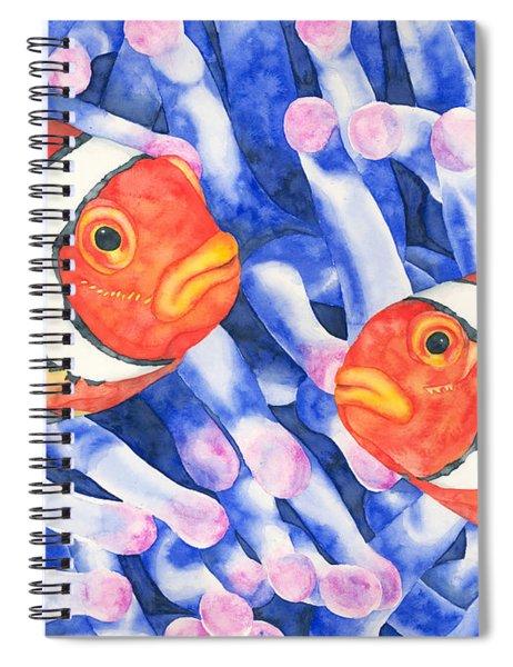 Clownfish Couple Spiral Notebook