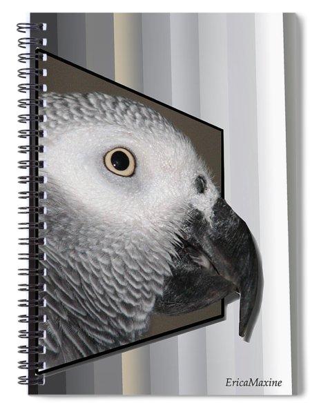 Clyde Oob Spiral Notebook