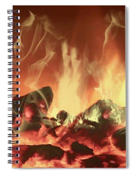 C'mon Baby Light My Fire Spiral Notebook