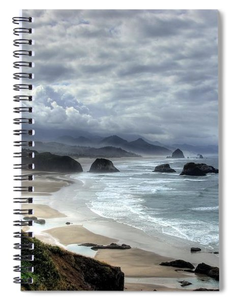 Spiral Notebook featuring the photograph Coast Of Dreams   2 by Mel Steinhauer