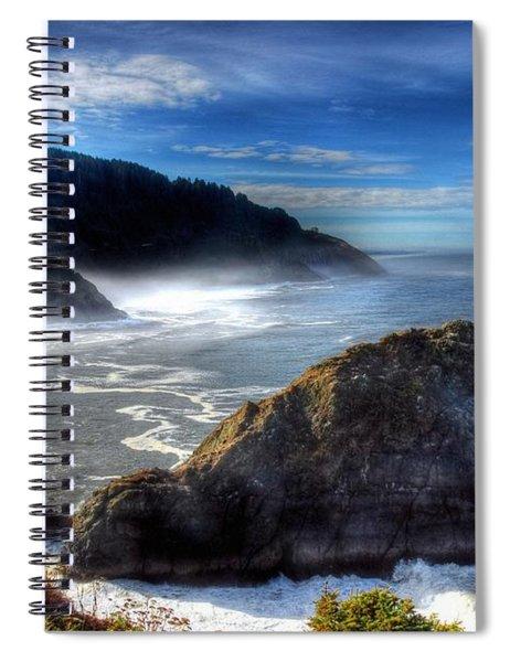 Coast Of Dreams 7  Spiral Notebook