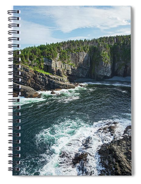Coast Southeast Of Pouch Cove  Killick Spiral Notebook
