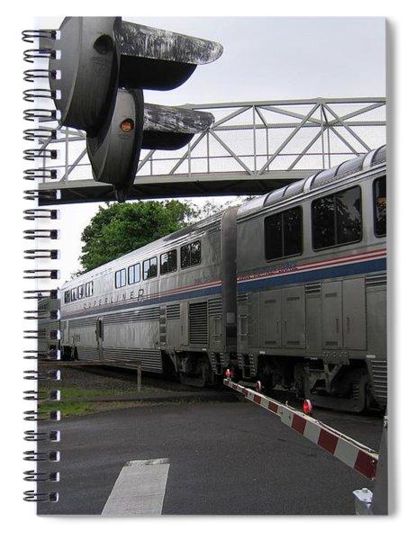 Coast Starlight In Salem Spiral Notebook