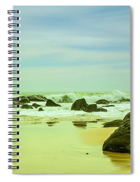 Coastal Landscape Of Sri Lanka Spiral Notebook