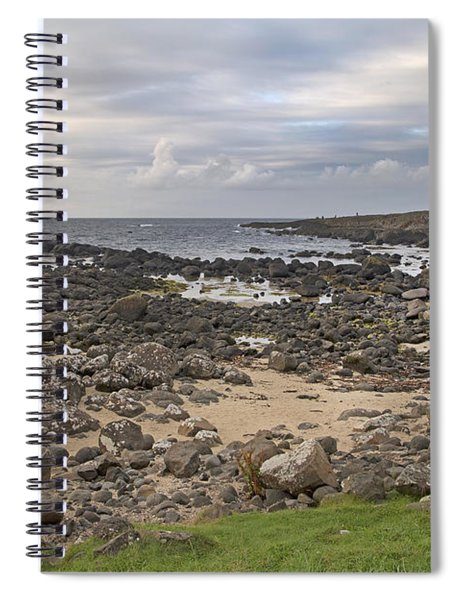 Coastal Stone Giant's Causeway -- Ireland Spiral Notebook